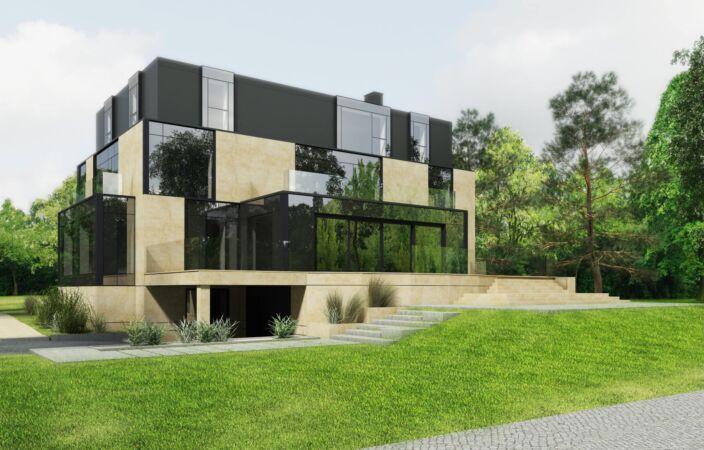 Dom Jednorodzinny – Konstancin