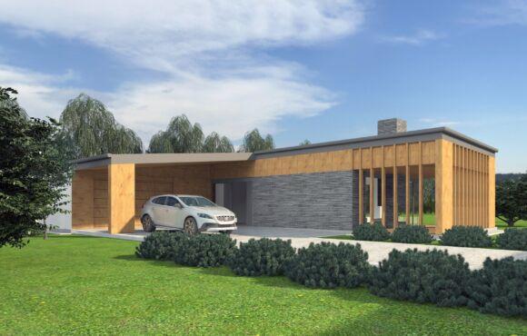 Dom jednorodzinny – Jastrzębski