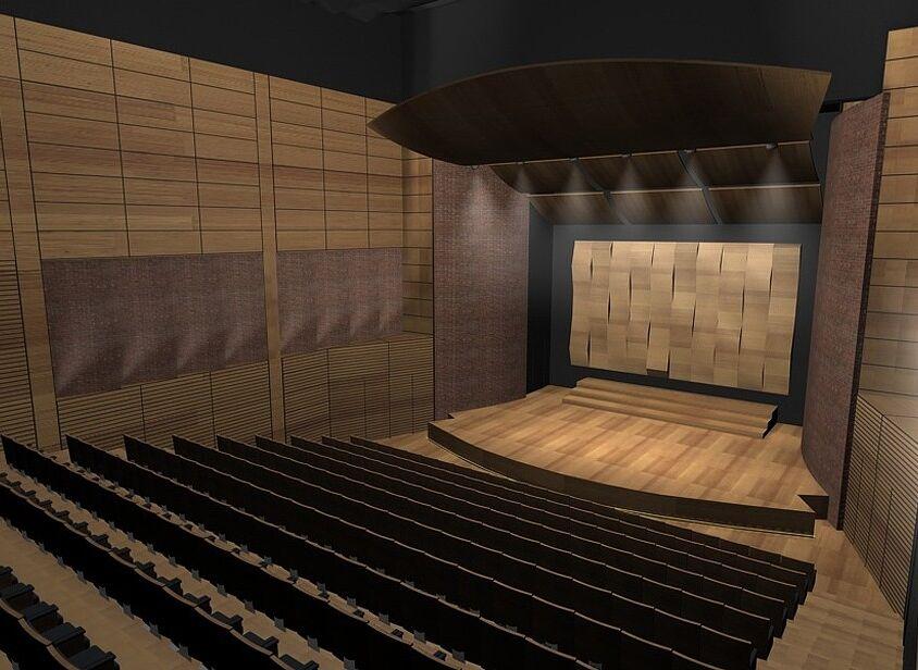 Wnętrza Szkoły Muzycznej